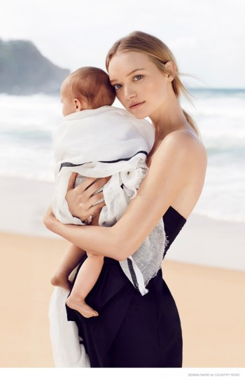 Gemma Ward Continues Comeback with New Country Road Campaign