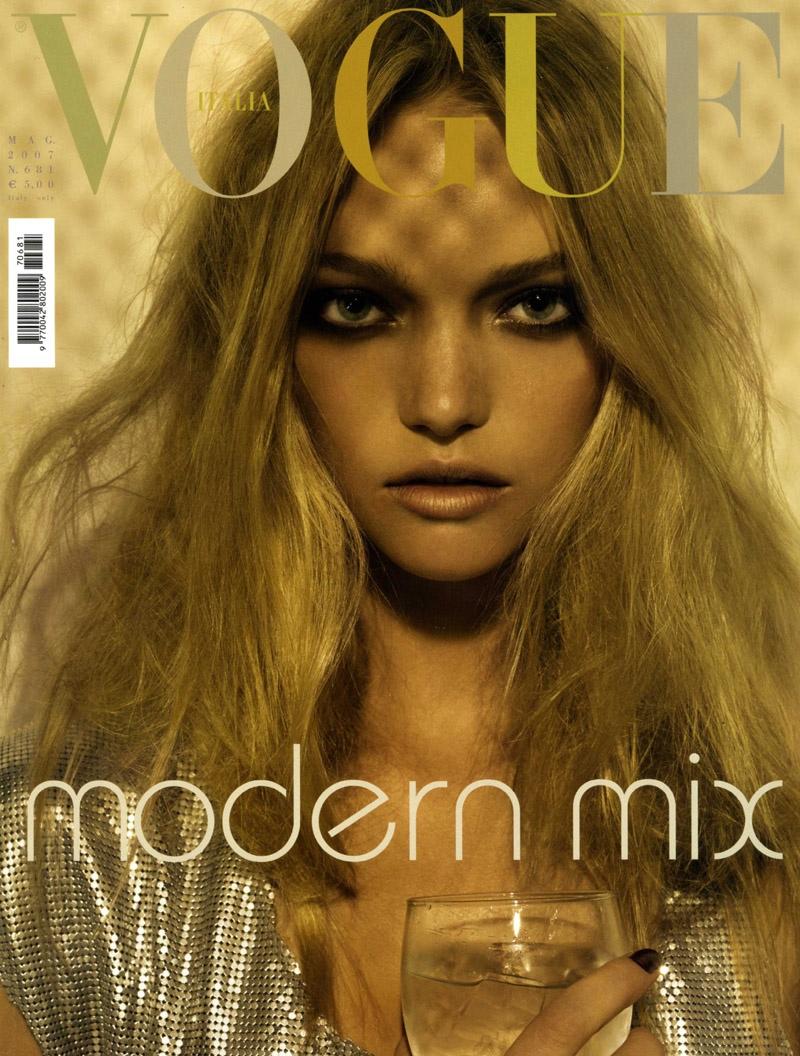 Gemma Ward on Vogue Italia May 2007 Cover