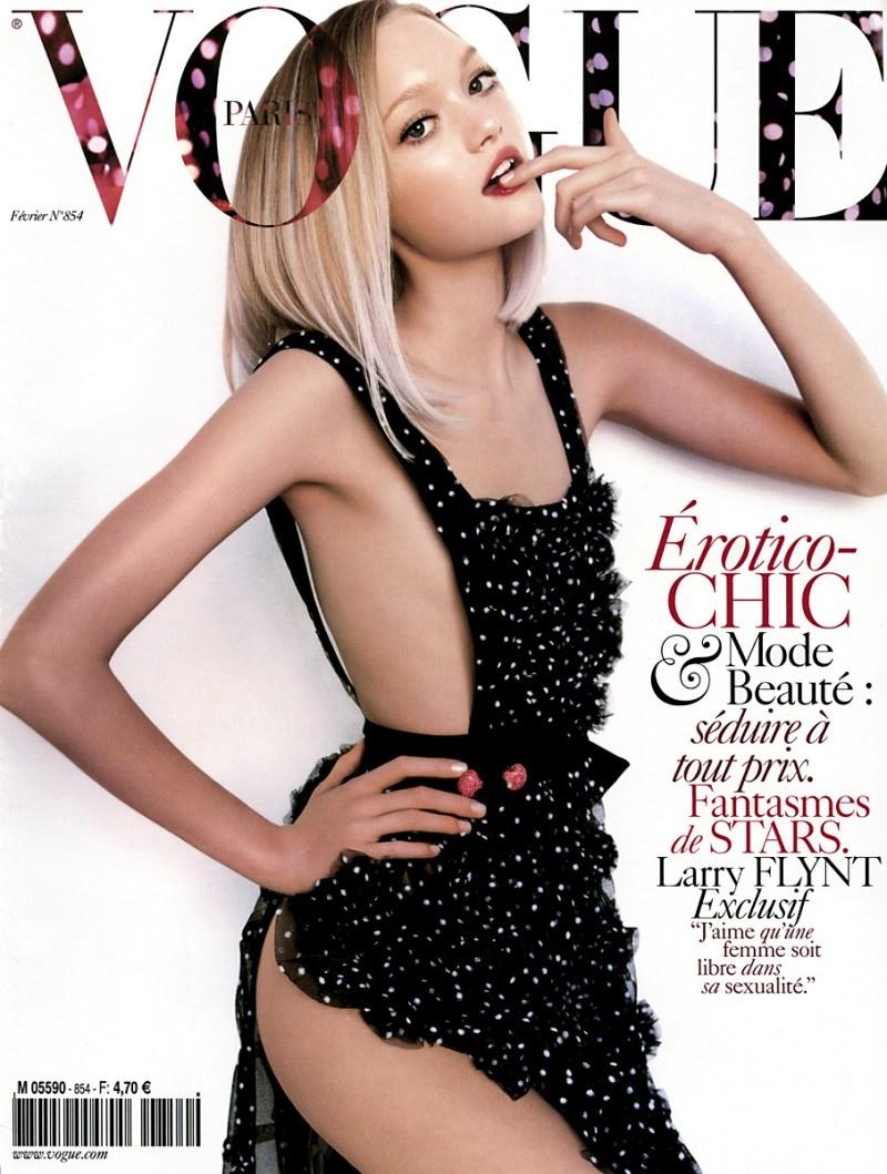 Gemma Ward on Vogue Paris February 2005 Cover