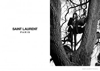 Grace Hartzel Stars in Part 2 of Saint Laurent's Fall 2014 Campaign