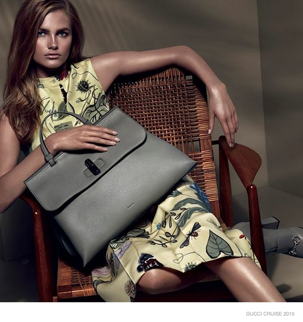 Gucci Taps New Faces for Cruise 2015 Ads by Mert & Marcus