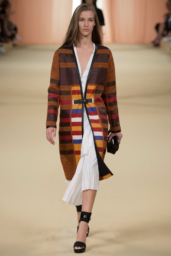 Hermès Spring 2015: Lemaire's Farewell