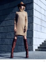 Andreea Diaconu Models Winter 2014 Trends for H&M