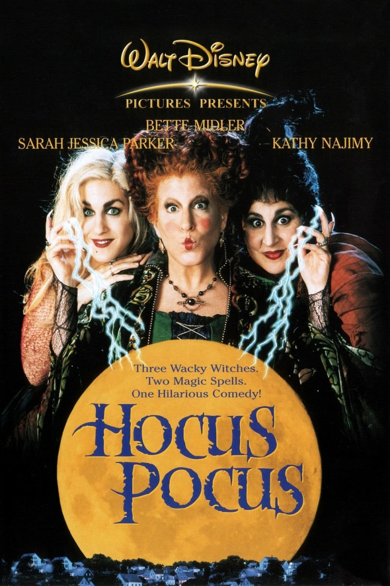 hocus pocus 1993 - Halloween Movies About Witches