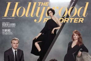 """Interstellar"" Stars Anne Hathaway & Jessica Chastain Cover The Hollywood Reporter"