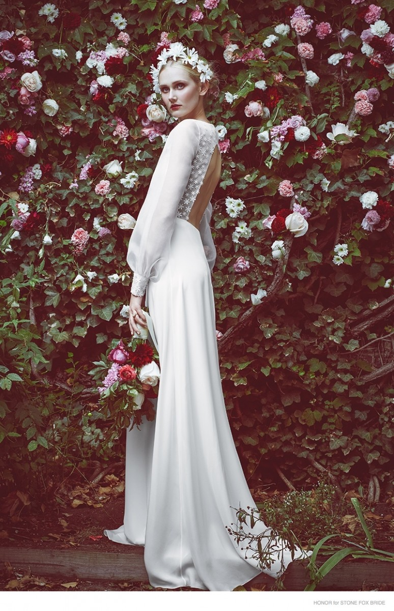 Honor for Stone Fox Bride's Dreamy Spring 2015 Wedding Dresses