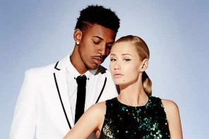 Iggy Azalea Poses with Boyfriend for Forever 21 Holiday 2014 Campaign