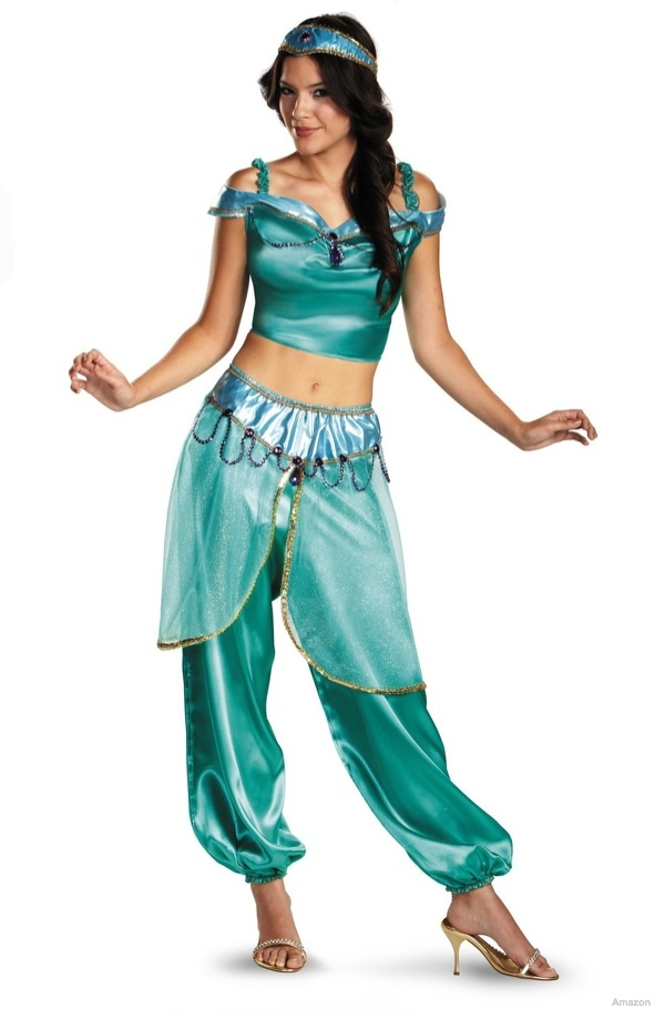 Disney Aladdin Jasmine Deluxe Costume