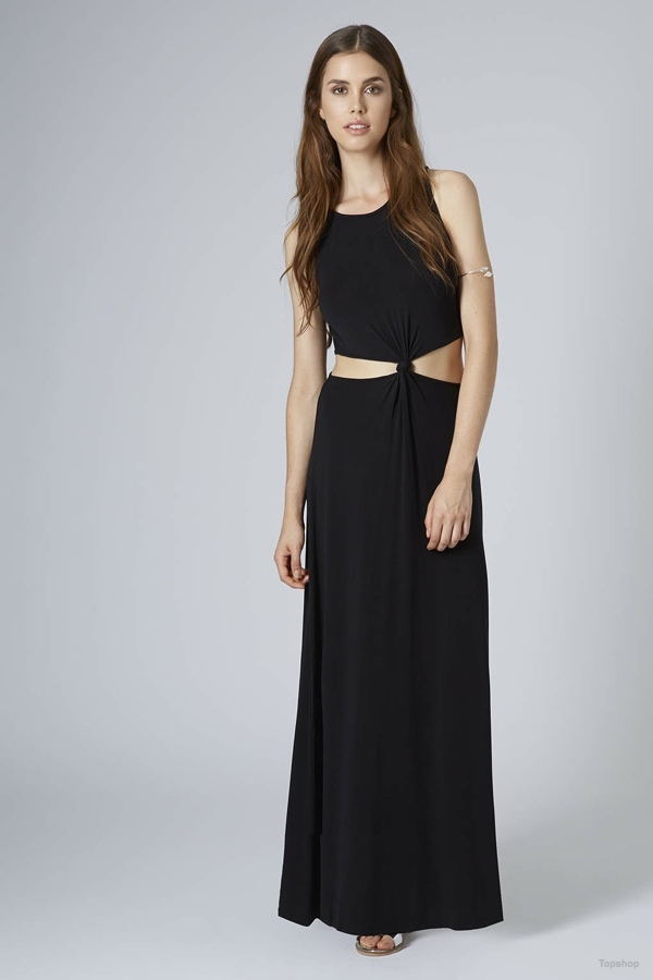 Jersey Knotted Waist Maxi Dress available at Topshop for $30.00