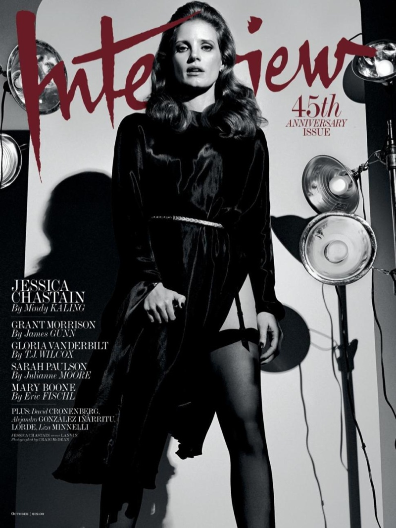 jessica-chastain-interview-magazine-october-2014-cover