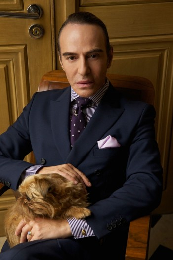 Portrait of John Galliano by Patrick Demarchelier