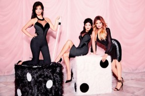 Kim, Khloe & Kourtney Launch the 'Kardashian Kollection' at Lipsy