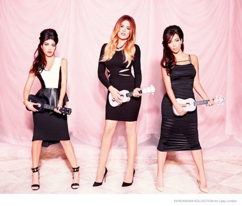 Kim, Khloe & Kourtney Launch the 'Kardashian Kollection' at Lipsy