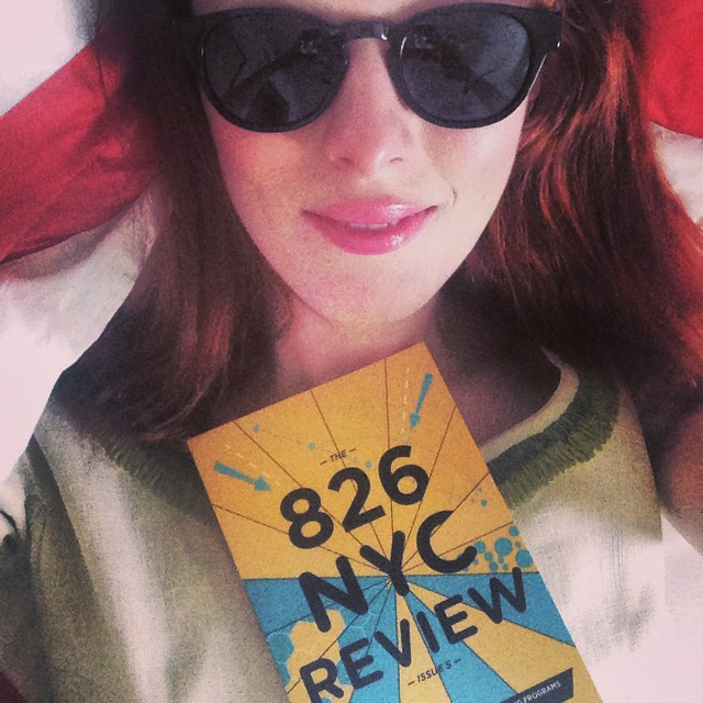 Karen Elson with 826 NYC