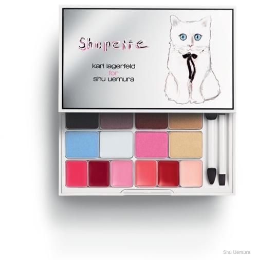 Karl Lagerfeld for Shu Uemura 'Shupette' Eye and Lip Palette