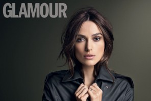 Keira Knightley Lands Glamour UK November 2014 Cover Story