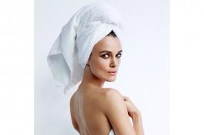 Keira Knightley Stars in Mario Testino's Towel Series