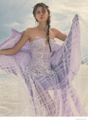 Keke Lindgard is a Beach Beauty for Blank by Paul de Luna