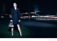 Marion Cotillard Poses at Night for New Lady Dior Campaign
