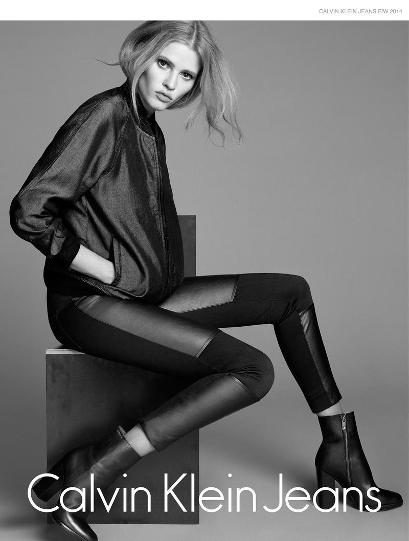 Lara Stone Calvin Klein