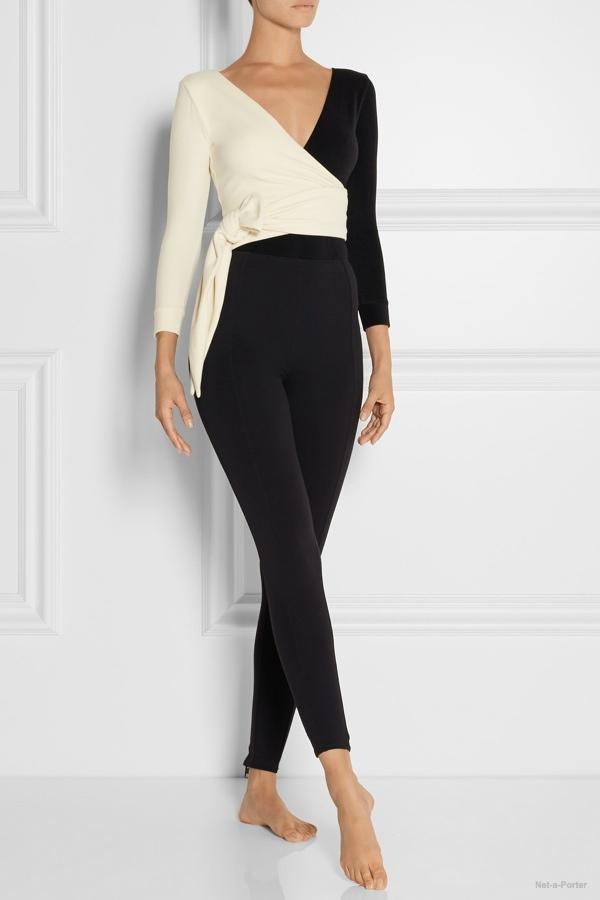 Lisa Marie Fernandez Mary Helen wrap effect bodysuit