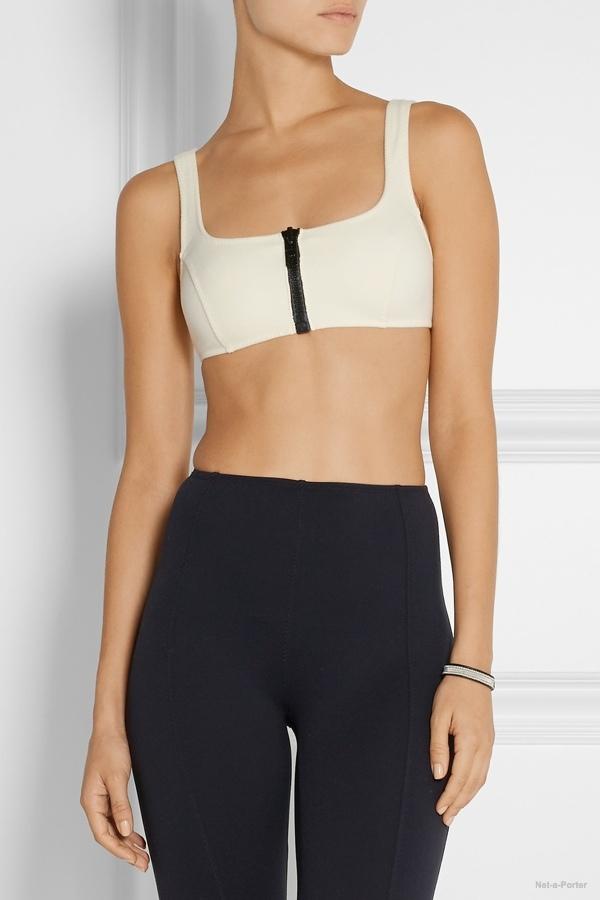 Lisa Marie Fernandez micro-fiber sports bra