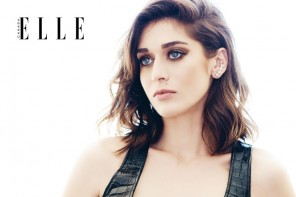 Lizzy Caplan Stars in Elle Canada November 2014 Cover Shoot