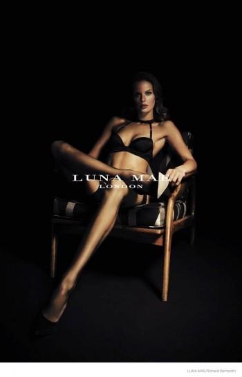 Marlijn Hoek Smolders in Luna Mae Lingerie Ads by Richard Bernardin