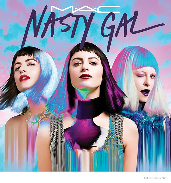 MAC & Nasty Gal Are Teaming Up for Makeup Collection