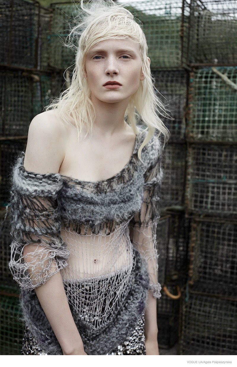 Industrial Style: Maja Salamon by Agata Pospieszynska for Vogue Ukraine