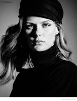 Marlijn Hoek Dons Effortless Style for Marie Claire Belgium by Hicham Riad
