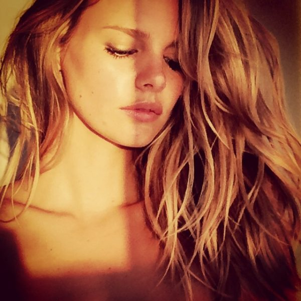 Another sultry shot of Marloes Horst by Guy Aroch. Photo: Instagram