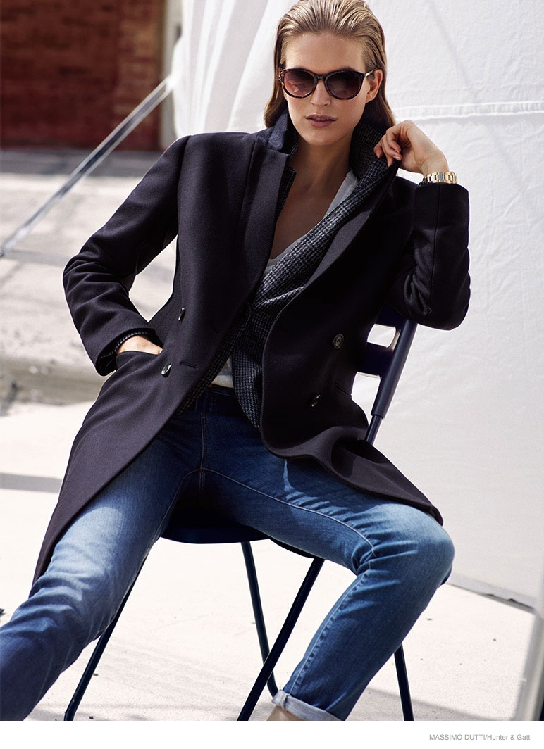Massimo Dutti October 2014 Lookbook Goes Urban Chic forecasting