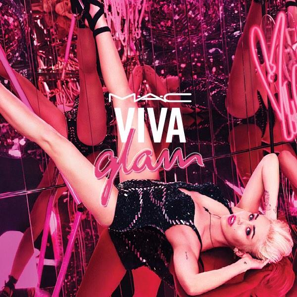 Miley Cyrus Named MAC Viva Glam 2015 Spokesperson