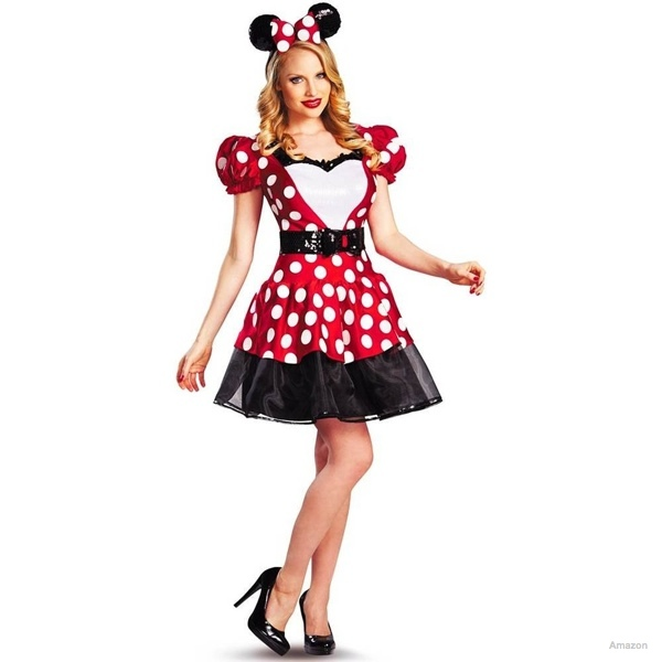 Disney Mickey Mouse Glam Minnie Costume