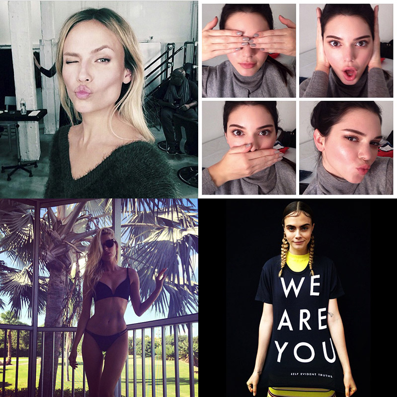 Instagram Photos of the Week   Cara Delevingne, Elsa Hosk + More Models