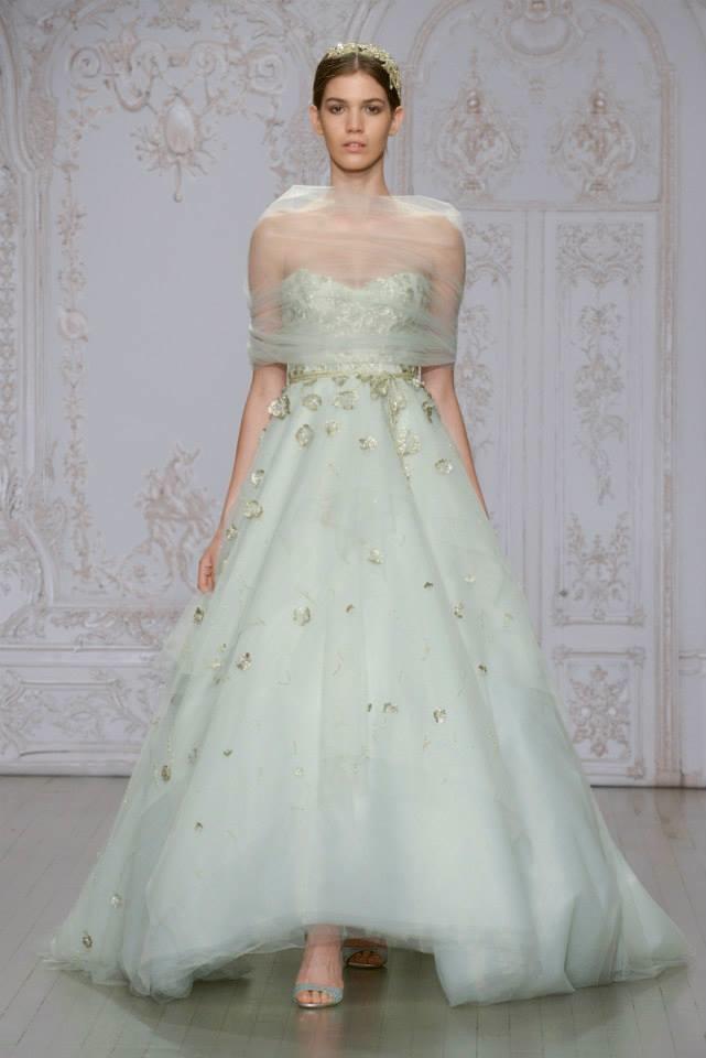 Monique Lhuillier Bridal 2015 Fall Wedding Dresses