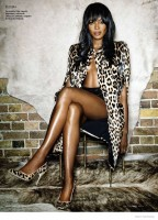 Naomi Campbell Stars in Super Sexy Vanity Fair Spain Shoot by Nico