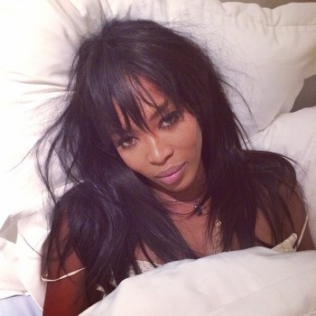 "Naomi Campbell posts ""Wake Up Call"" Instagram for new UNICEF campaign"
