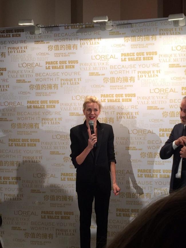 Naomi Watts Named L'Oreal Paris Spokesperson