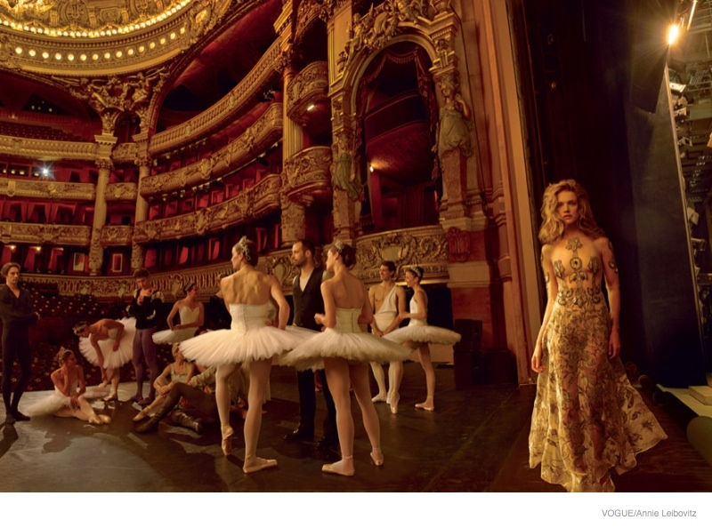 More Photos of Natalia Vodianova's Ballet Shoot for Vogue by Annie Leibovitz