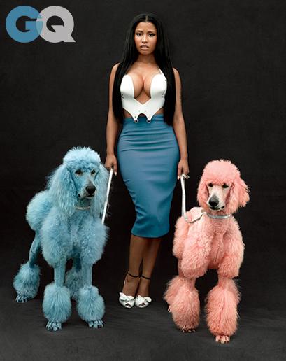 "Nicki Minaj Poses for GQ Magazine, Talks Meaning of ""Anaconda"" Video"