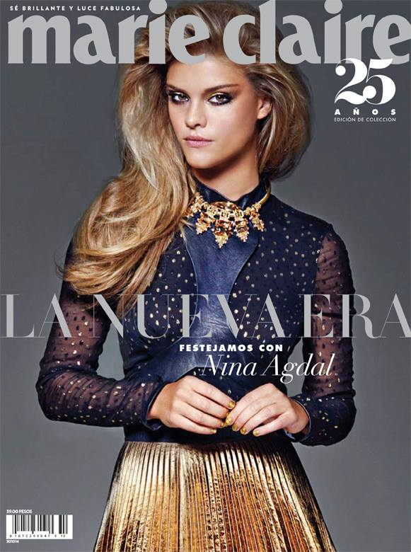 nina-agdal-marie-claire-mexico-october-2014-cover.