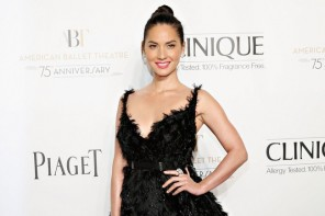 Olivia Munn Dons Lanvin Feather Dress at American Ballet Theatre 2014 Opening Night Fall Gala