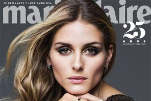 Olivia Palermo, Nina Agdal, Irina L. Land Marie Claire Mexico October 2014 Covers
