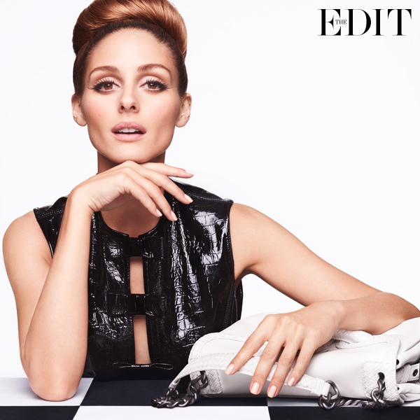 Olivia Palermo Poses in 1960s Fashions for The Edit