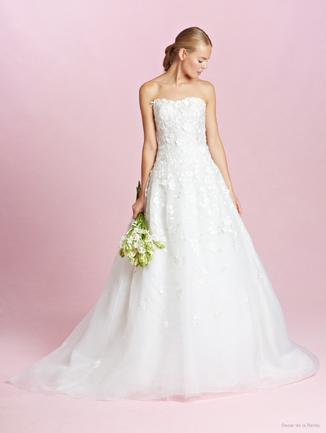 oscar renta wedding dresses fall