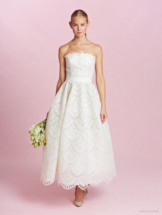 Oscar de la renta 2015 fall wedding dresses photos06 for De la renta wedding dresses