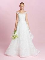 Dress from Oscar de la Renta Bridal fall 2015