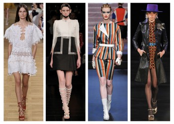 4 of the Best Paris Fashion Week Trends for Spring 2015